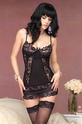 Intense Seduction Lace Chemise