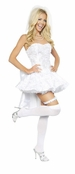 4PC Fantasy Bride Costume