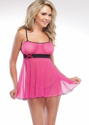 Body Moving Babydoll & G-String