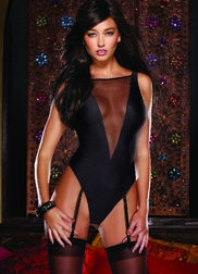 Seducing Danger Mesh Teddy