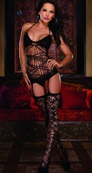 Black Diamond Samoa Bodystocking