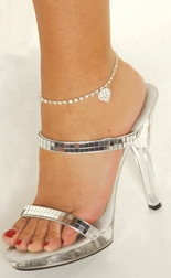 Jewelry Heart Anklet