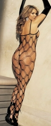 H.O.T. Big Open Diamond Bodystocking