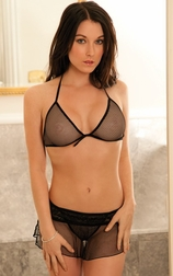 Vamp Tramp Fishnet Bra Set