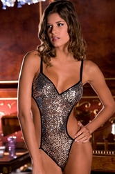 Sexy Night Sequin Teddy