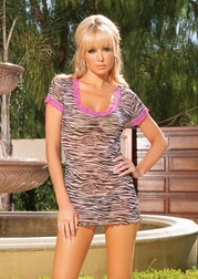 Hearts Collection Sexy Little Zebra Dress