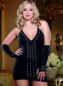 Plus Size Spanking Pleasure Sexy Dress