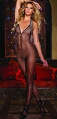 Black Diamond Mombasa Fishnet Bodystocking