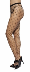 Open Fishnet Pantyhose
