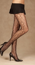 Ripped Net Pantyhose