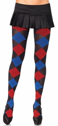 School Girl Pattern Tights