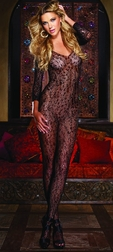 Black Diamond Zimbabwe Long Sleeve Bodystocking