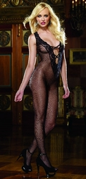 Black Diamond Stockholm Open Crotch Bodystocking