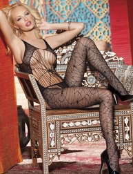 H.O.T Sexy Spiderweb Bodystocking