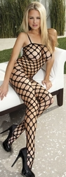 Big Hole Fishnet Bodystocking