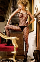 Flowers & Lace Sexy Bodystocking