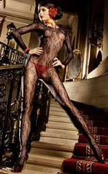 Lace Elements Sexy Bodystocking