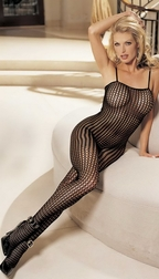 H.O.T. Honeycomb Lace Bodystocking