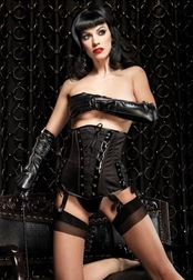 Patent Leather Sexy Waist Cincher