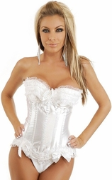 Plus Size Let's Get Married Corset