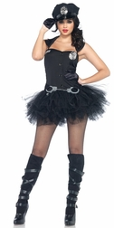 3 PC. Handcuff Honey Costume