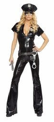 7 PC Sexy Officer Costume