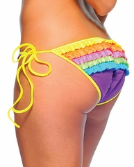 Rainbow Rhumba Multi Color Bottom