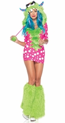 2 PC Melody Monster Costume