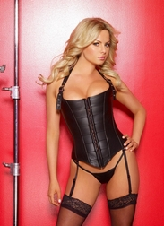 Lovely Leather Corset