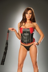 Leather Crazy Corset
