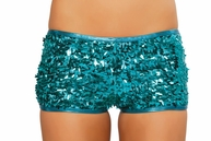 Sequin Queen Glamour Shorts