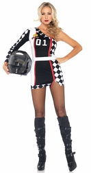 2 PC. First Place Racer Costume