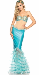 3 PC Mystical Mermaid Costume