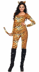 2 PC Wild Tigress Costume