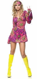 2 PC. Hippie Girl Costume