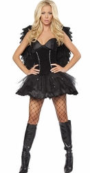 2PC Sexy Dark Angel Costume