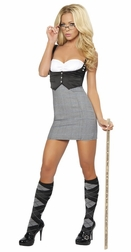 2PC Detention Diva Costume