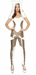 1PC Charming Cheetah Costume