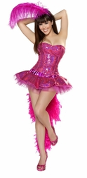 3PC Sexy Flamingo Costume