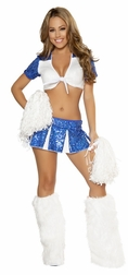 3PC Charming Cheerleader Costume