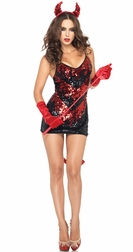 2 PC Demon Darling Costume