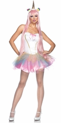 3 PC Fantasy Unicorn Costume