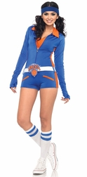 3 PC NY Knicks Babe Costume