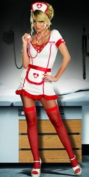 Nurse Juana B. Sedated Costume