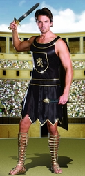Men's Babe-A-Lonian Warrior King Costume