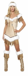 3PC Indian Snow Princess Costume