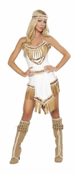 3PC Indian Huntress Costume