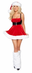 Santa's Envy Mini Dress