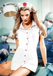 Sexy Erotic Nurse Costume