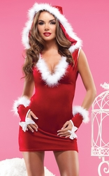 Hot Christmas Present Dress